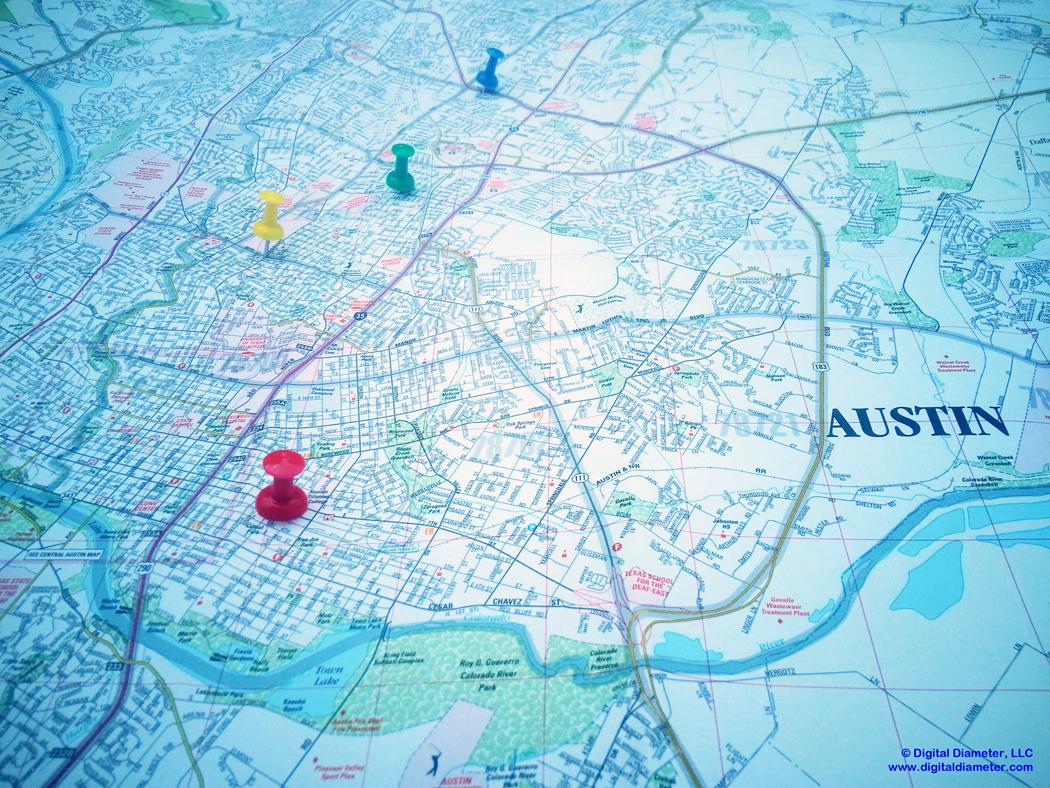 Austin PPC Map